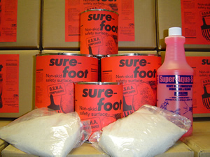 Sure-Foot™ O.S.H.A. complliant non-skid safety surface