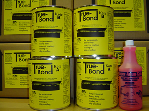 True-Bond Kote™ (Heavy Duty Coating and Slip-Proofing)